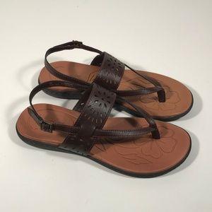 BOC by Born Brown Vegan Sandals Women Size 8 M